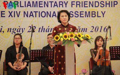 L'organisation des députés d'amitié du Vietnam voit le jour - ảnh 1