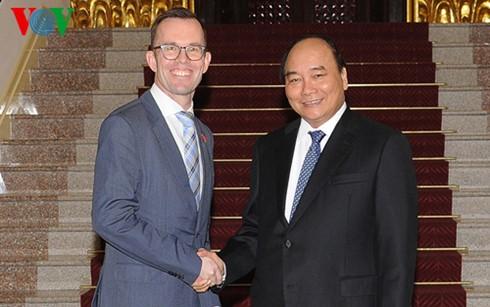 Nguyên Xuân Phuc reçoit l'ambassadeur néo-zélandais - ảnh 1
