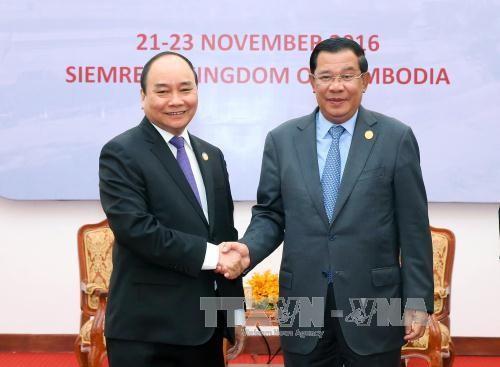 Entretien Nguyen Xuan Phuc - Hun Sen - ảnh 1