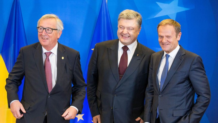 UE-Ukraine: un sommet à Bruxelles  - ảnh 1