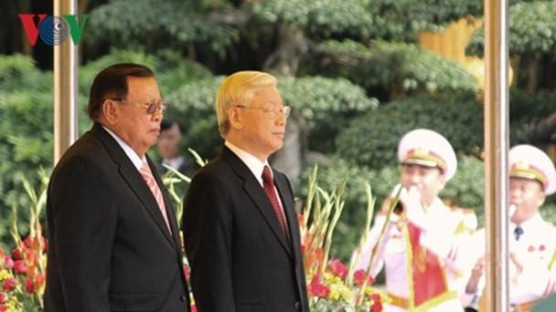 Déclaration commune Vietnam-Laos - ảnh 1