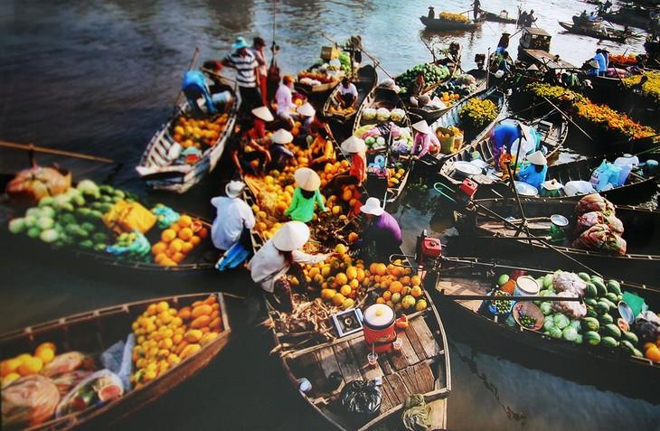 Les marchés multicolores du Vietnam - ảnh 1