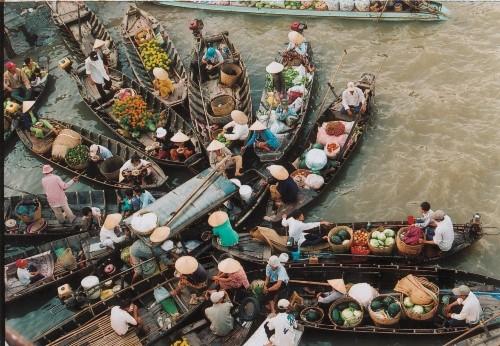 Les marchés multicolores du Vietnam - ảnh 3