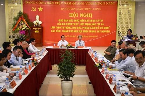 Accélérer le mouvement «Etudier et suivre l'exemple moral du président Ho Chi Minh» - ảnh 1