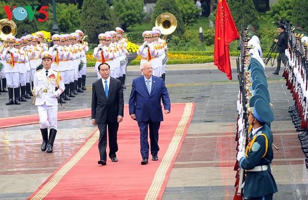 Trân Dai Quang: la coopération Vietnam-Israël tourne la page - ảnh 1