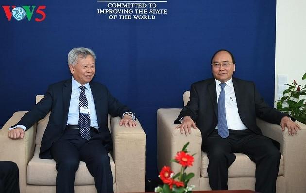 Forum économique mondial sur l'ASEAN : Nguyen Xuan Phuc prononce un discours  - ảnh 3
