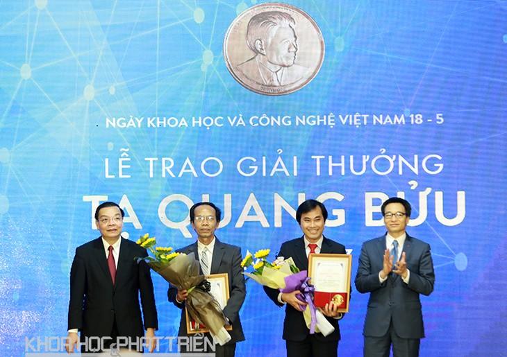 Sciences : remise du prix Ta Quang Buu 2017  - ảnh 1