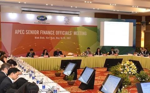 Clôture de la conférence des hauts officiels des finances de l'APEC (SFOM) - ảnh 1
