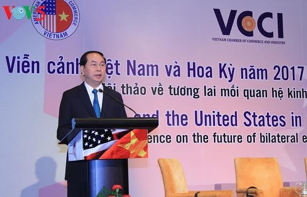 Colloque sur les perspectives de la coopération commerciale Vietnam – Etats-Unis - ảnh 1