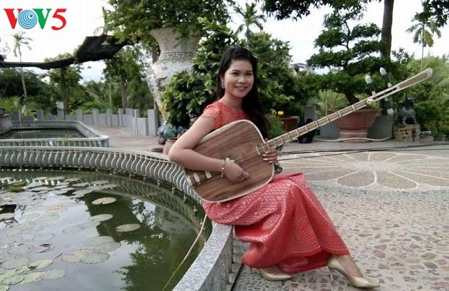 Neang Kunh Thia, une khmère passionnée d'art - ảnh 1