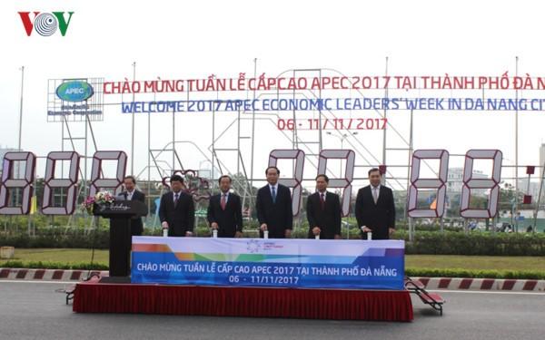 Danang est prête à accueillir la semaine de haut rang de l'APEC 2017 - ảnh 1