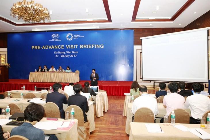 Sommet de l'APEC 2017: première visite de repérage des économies membres - ảnh 1