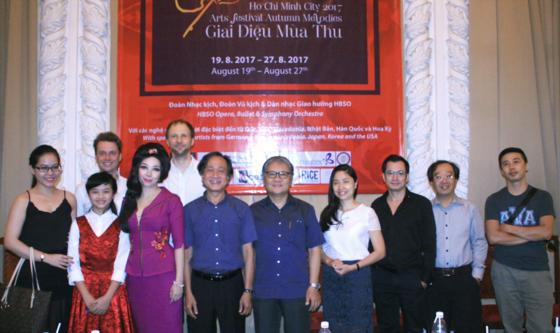 200 artistes vietnamiens et étrangers attendus au festival «Mélodie d'automne 2017» - ảnh 1