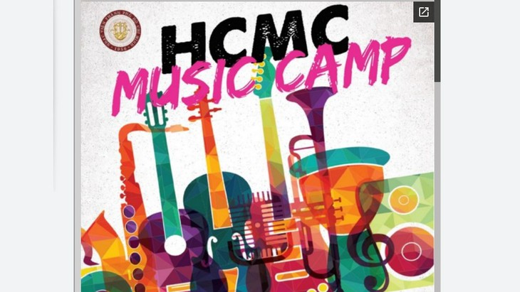 Ouverture du camp d'été musical d'Ho Chi Minh-ville 2017 - ảnh 1