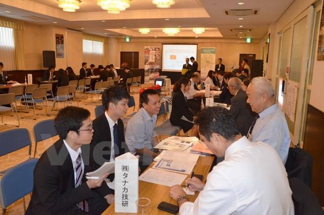 Japon: colloque sur l'emploi à l'intention d'étudiants vietnamiens - ảnh 1