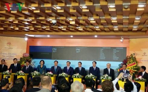 Inauguration du marché dérivé du Vietnam - ảnh 1