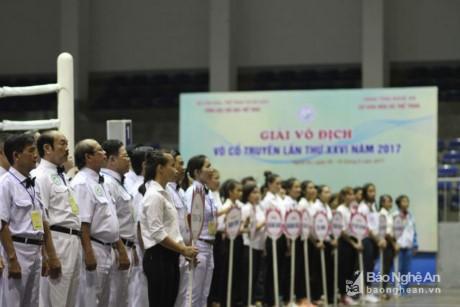 Clôture du 26ème championnat d'arts martiaux traditionnels du Vietnam  - ảnh 1