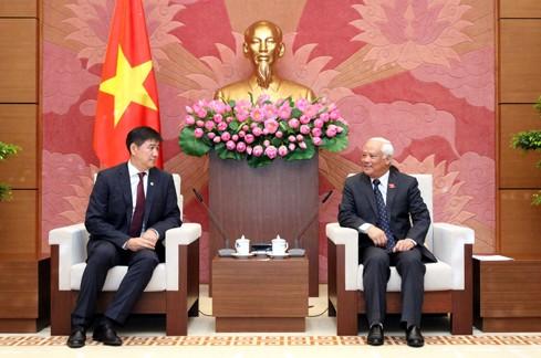Le secrétaire général de l'Assemblée nationale mongole au Vietnam  - ảnh 1