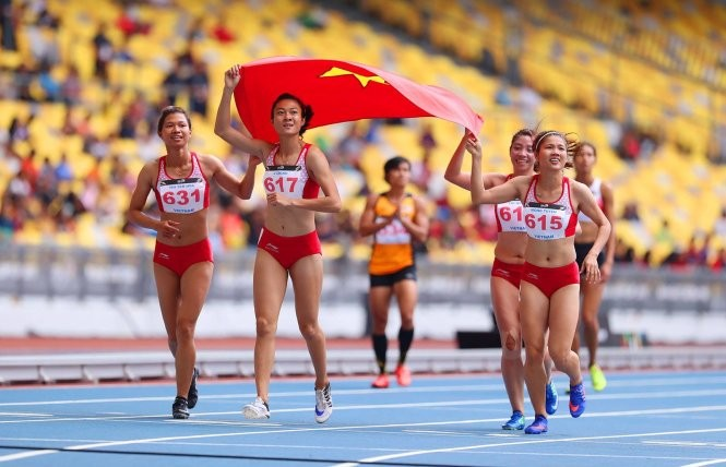 SEA GAMES 29: le Vietnam toujours en 2ème position - ảnh 1