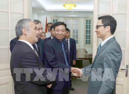 Vu Duc Dam reçoit le directeur adjoint de l'AKP  - ảnh 1