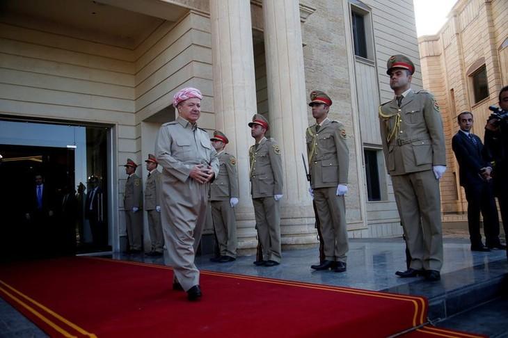 Irak: Massoud Barzani défend son projet de référendum kurde - ảnh 1
