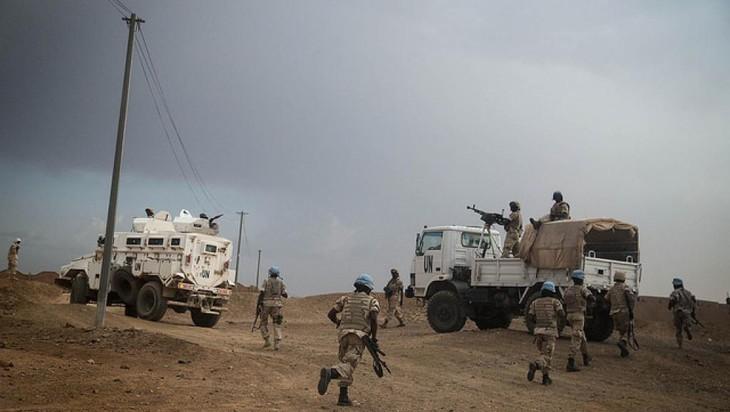 Mali: attaque contre des Casques bleus - ảnh 1