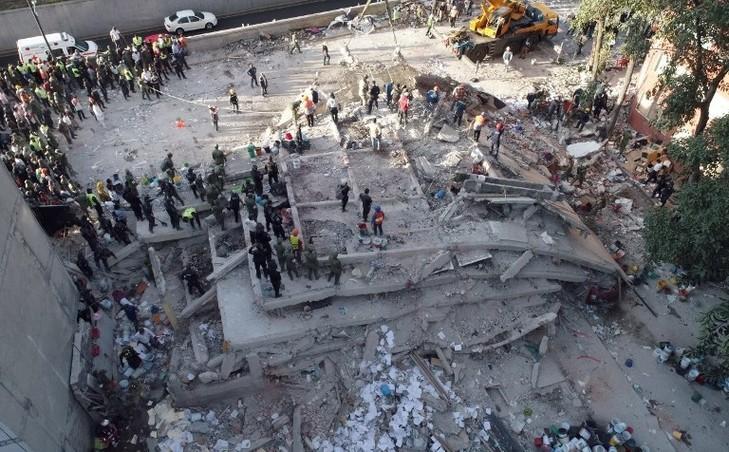 Mexique: le monde prie pour les victimes du « terrible tremblement de terre » - ảnh 1
