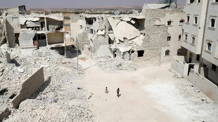 La Russie accuse l'UE de «politiser» la reconstruction de la Syrie - ảnh 1