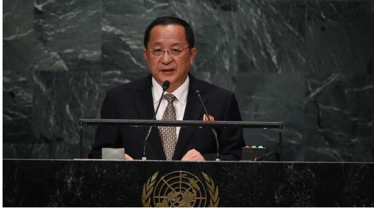 Un ministre nord-coréen évoque le test d'une bombe H dans le Pacifique - ảnh 1