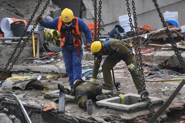 Un nouveau séisme secoue le Mexique - ảnh 1