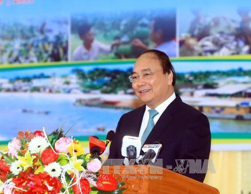 Nguyen Xuan Phuc à une conférence sur la promotion de l'investissement à Hau Giang - ảnh 1