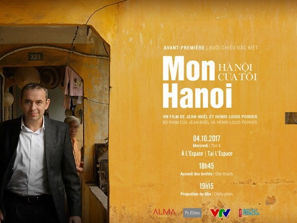 L'ancien ambassadeur français Jean-Noël Poirier tourne un film sur Hanoï - ảnh 1