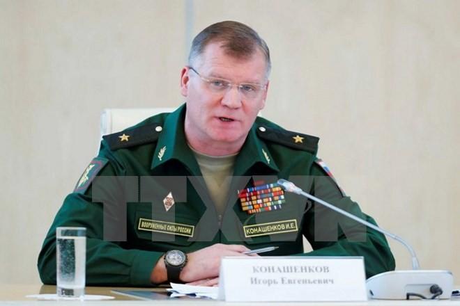 L'armée russe accuse les Etats-Unis de « soutenir » le groupe Etat islamique - ảnh 1