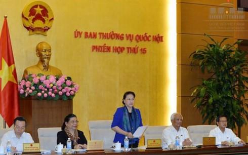 Clôture de la 15ème session du comité permanent de l'Assemblée nationale - ảnh 1