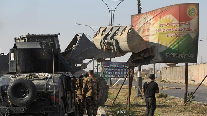 L'Irak reprend Kirkouk aux Kurdes - ảnh 1