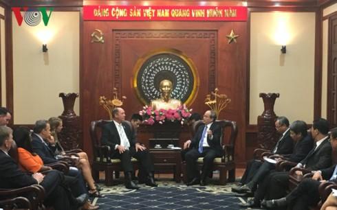 Nguyen Thien Nhan reçoit Ted Yoho - ảnh 1