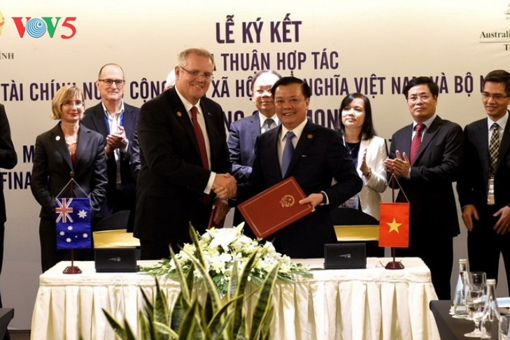 Finances : Le Vietnam et l'Australie signent un mémorandum de coopération - ảnh 1