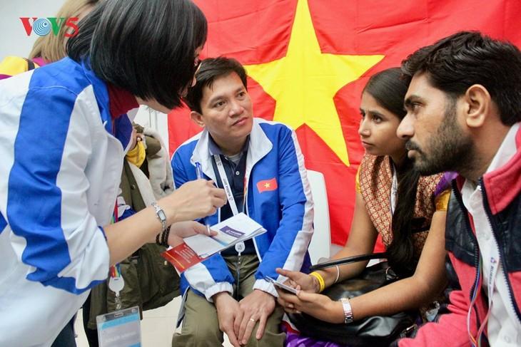 La culture vietnamienne à l'honneur au festival mondial de la jeunesse et des étudiants - ảnh 1