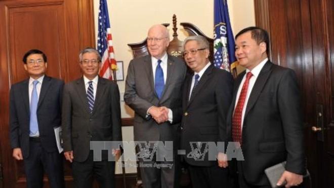 Nguyen Chi Vinh déclaré satisfait du dialogue de politique de défense Vietnam-Etats-Unis - ảnh 1
