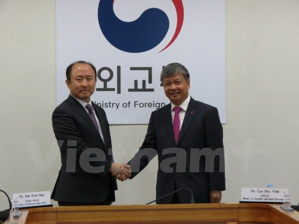 Développement positif des relations Vietnam - République de Corée - ảnh 1