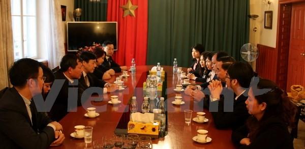 Négociations de l'accord vietnamo-tchèque sur l'entraide judiciaire en matière pénale - ảnh 1