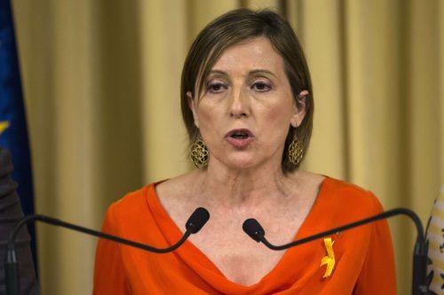 Catalogne: la présidente du parlement libérée après versement d'une caution - ảnh 1