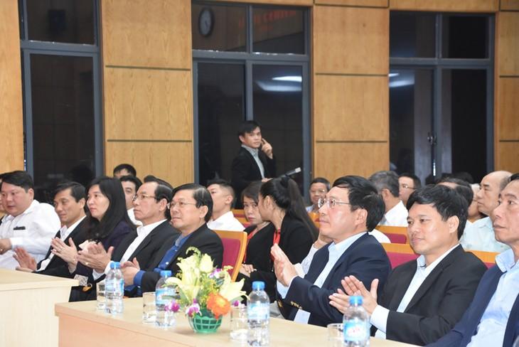 Diverses activités à l'occasion de la Journée traditionnelle du Front de la Patrie du Vietnam - ảnh 1