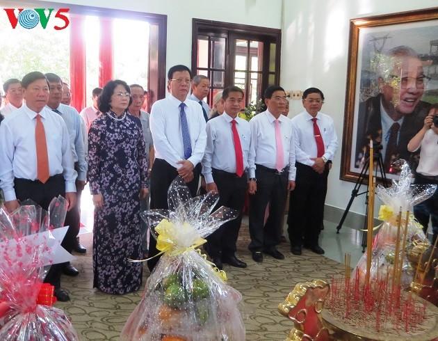 Dang Thi Ngoc Thinh à la célébration du 95ème anniversaire de l'ancien PM Vo Van Kiet - ảnh 1