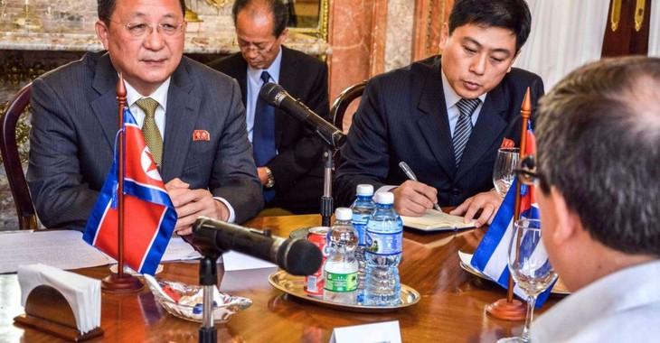 La RPD de Corée et Cuba font front commun contre les États-Unis - ảnh 1