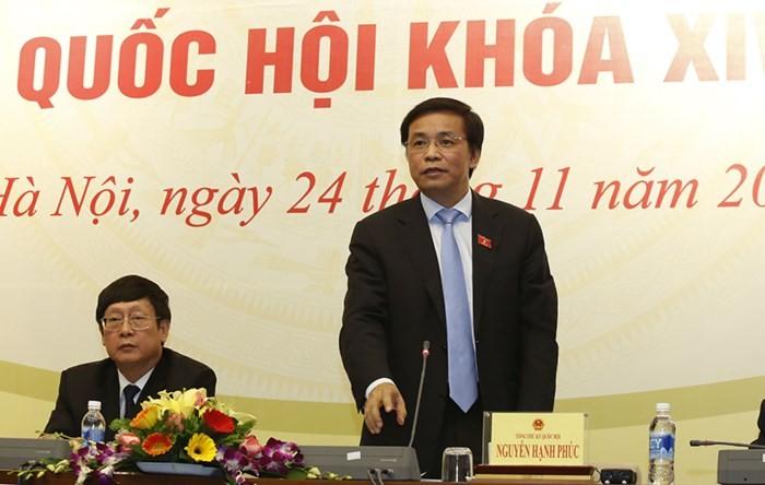 Conférence de presse annonçant les résultats de la 4ème session parlementaire - ảnh 1