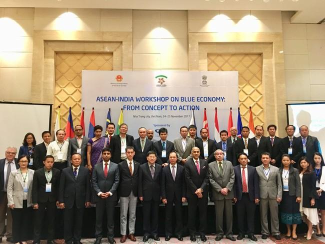Colloque ASEAN-Inde: économie bleue,  de la conception à l'action - ảnh 1