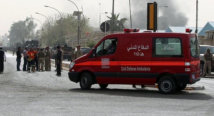 Irak: un attentat suicide tue au moins onze personnes près de Bagdad - ảnh 1