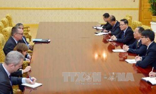 Entretien de l'émissaire de l'ONU avec le chef de la diplomatie nord-coréen - ảnh 1
