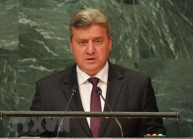 Macédoine: l'accord avec la Grèce rejeté par le président - ảnh 1
